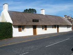 The Burns Cottage Museum located in Ayr ( explore your biking wanderlust on www.motorcyclescotland.com )