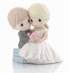 too cute precious moments wedding day! :)