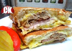 Cuban Sandwich - Chef Kendra's Easy Cooking!
