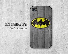 Batman iPhone 4 Case iPhone 4s Case iPhone 4 Cover by CasePort, $6.99