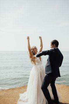 Our Wedding, Wedding Ideas, Bhldn, San Diego, Wedding Photos, Couple Photos, Couples, Beach, Marriage Pictures
