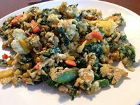 Eggs and Vegetables