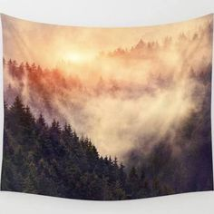 affordable nature wall tapestries - Google Search