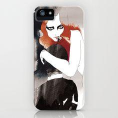 Vampira iPhone & iPod Case by Judit Garcia-Talavera - $35.00