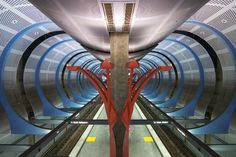 Sheila Klein design of Hollywood and Highland Red Line Station