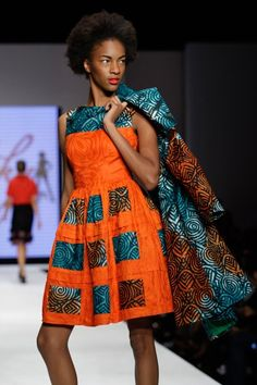 Ankara Styles and Dresses — daghanaianchiq: Finnicky Couture ALL ABOUT...