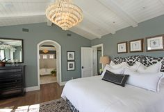 Walls - Faded Silk by Ralph Lauren traditional bedroom by RS Myers Company