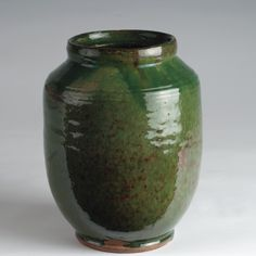 01742 bristol county redware jar
