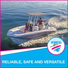 Reliable, safe and versatile… the Yamaha 190 FSH Series is an ideal choice for family fun on the water. #Automotiveart #Yamaha #boats #familyfun #190fshseries