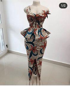 Long Ankara Dresses, African Dresses For Kids, Ankara Skirt And Blouse, African Wear Dresses, African Inspired Fashion, Latest African Fashion Dresses, African Print Fashion, African Attire, Ankara Dress Designs