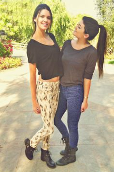the jenner sisters. they are simply flawless and i envy them