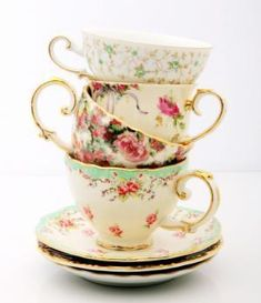 delicate and feminine for the perfect cup of tea :)