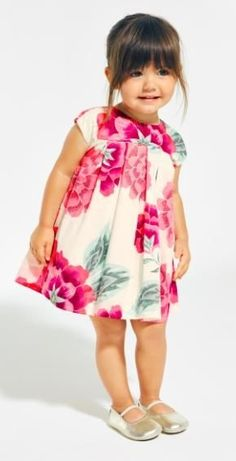 Cassie Sateen Baby Dress