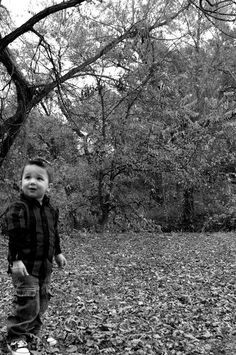 2 year old boys can stand still....if you snap fast