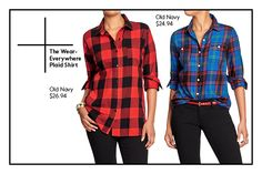 The Wear-Everywhere Plaid Shirt  Holiday plaid just got a lot cooler. But, don't think of Angela Chase's oversized button-ups. While still casual, this season's plaid shirt is more streamlined, so you can pair it with cropped cigarette pants or a pencil skirt for a holiday happy hour, or layer it under a cozy sweater for a comfy-but-not-bulky weekend look. ...