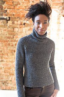 Hudson Turtleneck from Brooklyn Tweed Brooklyn Tweed, Top Mode, Angora, Ravelry, Sweater Knitting Patterns, Knitting Sweaters, Knit Sweater Dress, Cool Sweaters, Knit Fashion