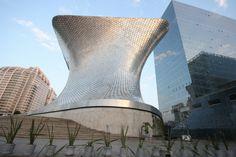 Museo Soumaya in Mexico City, designed architect Fernando Romero.