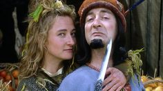 Maid Marian and Her Merry Men ~ BBC children's tv's take on a comical-feminist stylee twist on the Robin of Hood theme (in this case, Robin was a wimp and Marian and her band of merry men sorted all of the local 'baddies' out). Tony 'BlackAdder/Time Team' Robinson was the Sherrif of Nottingham