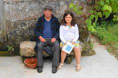 HELDER BARROS: Amarante Literatura - Hoje fui com a minha filha, Beatriz, visitar o Escritor Amarantino, Sr. A. Magalhães!