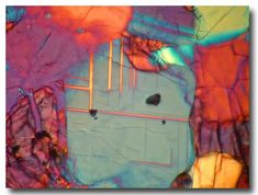 Cross Polarized Light Hand Sample Examination - Meteorite Micro Visions Photography by Tom Phillips