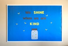 Kindness Bulletin Board Set, Positive Behavior Bulletin Board, Classroom Bulletin Board Set, School Bulletin Board Sets, Firefly Die Cut