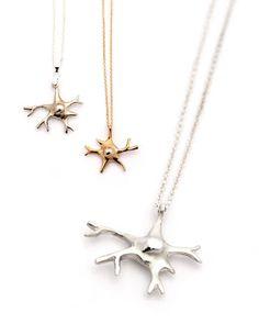 Neuron Necklace! Coolest nerdiest jewelery