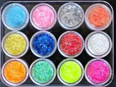 12 Colors Glitter Strips Nail Art Decoration by La Demoiselle. $9.29. In retail package. 12 Colors Glitter Strips. 3g/color/jar. These vibrant colors strips come in 12 jars with screw-on lids. Each jar is about 3g and 2/3 full. Packed in plastic box for easy storage.