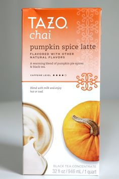 Pin for Later: 80+ Pumpkin Spice Products, Ranked From Worst to Best Tazo Chai Pumpkin Spice Latte