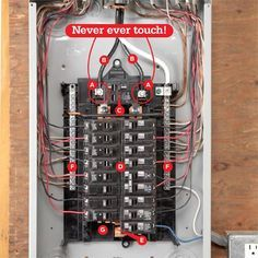d3b3860b803503c495e16bc109ee0582--circuit-safety  Amp Breaker Box Wiring Diagram Trailer House on
