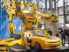GM/ Transformers Cake