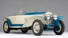 1925 Concept Car – Rolls-Royce 10EX