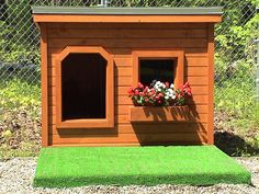 Several years of being tried and tested, this dog house has been proven to be the most comfortable and the safest home you can build for your beloved dog.