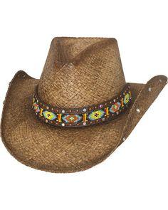Bullhide Love Myself Straw Cowboy Hat a2fecb370079