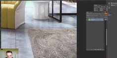How To create Realistic Carpet with 3ds Max and Vray Fur | AVCGI 360