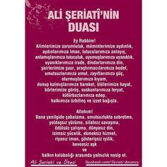 """""""#Ali #Şeriati'#nin #duası. #Özlüsözler #alişeriati #dua #OKUMADAN #GEÇMEYİN"""""""