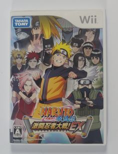 #Wii Japanese :  Naruto Shippuden: Gekitou Ninja Taisen EX RVL-RNXJ-JPN  CLICK THE FOLLOWING LINK TO BUY IT ( IF STILL AVAILABLE ) https://www.delcampe.net/en_GB/collectables/electronic-games/other-1/wii-japanese-naruto-shippuden-gekitou-ninja-taisen-ex-rvl-rnxj-jpn-415773289.html
