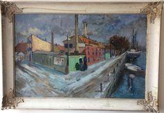 Unknown artist, Oil on cardboard
