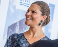 Crown Princess Victoria attends the 2015 Stockholm Junior Water Prize