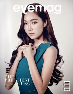Jessica Jung featured on the cover of Eyemag Magazine May Issue 2015.