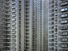 Architecture of density - Michael Wolf