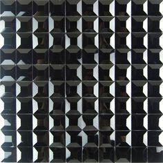 black diamond mirror glass msoaic craft tiles
