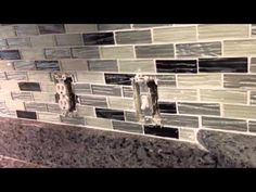 how to cut tile around electrical outlets - Bing video