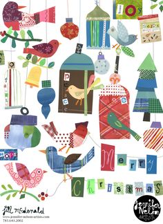 jill_mcdonald_Merrychristmasbirds