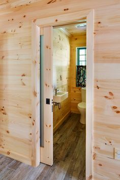 Now this is a mudroom! Woodmeister Master Builders worked with interior designer Marcia Summers to create the super-functional space for a lakeshore home in New Hampshire. The active homeowners wa… Cabin Interior Design, Garage Interior, Farmhouse Interior, Cafe Interior, Knotty Pine Decor, Knotty Pine Walls, House Of Turquoise, Cabin Interiors, Mudroom