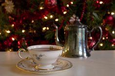 Christmas Morning Tea by the Christmas tree http://louisvilleteacompany.com/christmas-morning.html