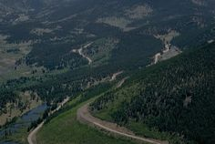 Trail Ridge Road, Colorado, the scariest road I've been on 13,000 feet up and no guard rails.