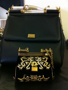 Miss Sicily bags, DolceGabbana small one