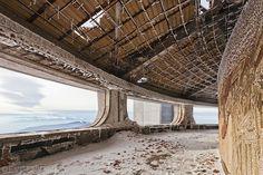 Buzludzha, #Bulgaria #abandoned #architecture