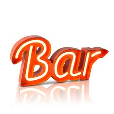 Battery Operated LED Neon Bar Sign