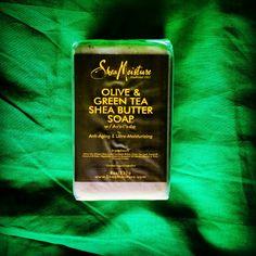 Shea Moisture Olive & Green Shea Butter Soap